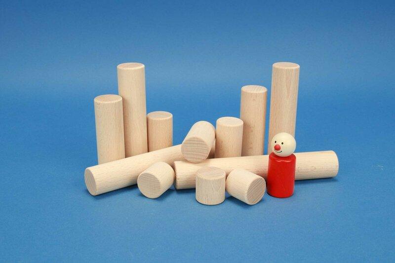 cylindre en bois Ø 3 cm