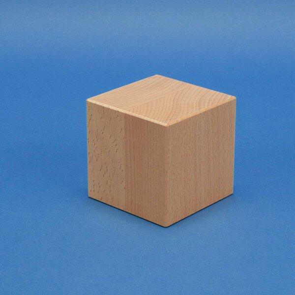 Deco cubes en bois 9 cm