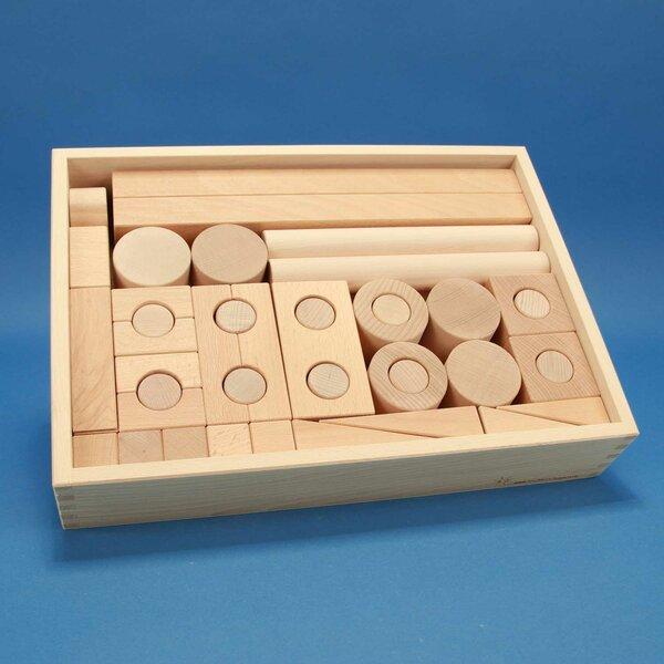Froebel Jouet de cubes en bois 57