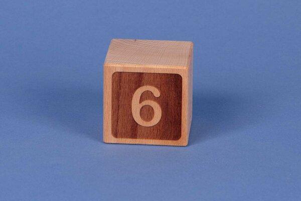 Cubes en lettres 6 négatif