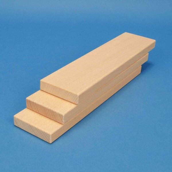 blocs de construction en bois 24 x 6 x 1,5 cm