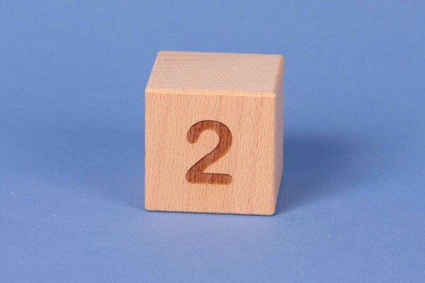 Cubes en lettres 2 positive