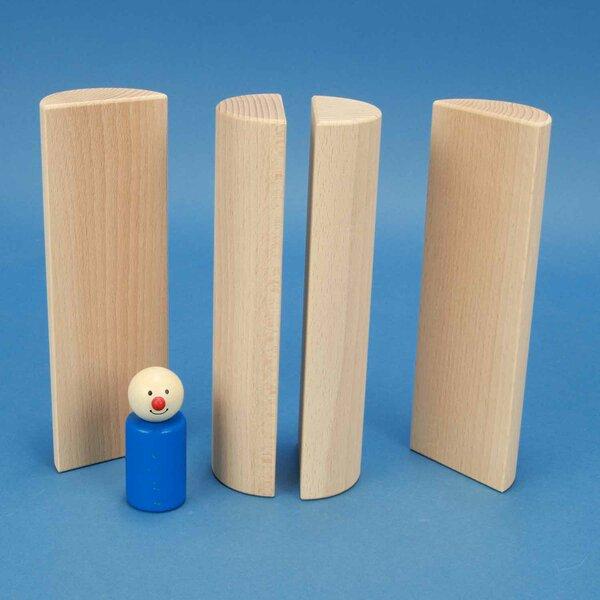 colonnes demi Ø 6 x 18 cm
