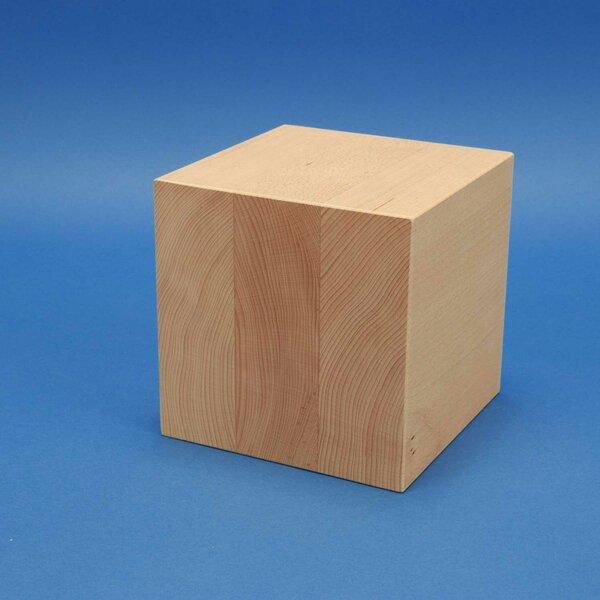 20 cm cubes en bois