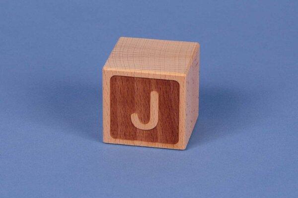 Cubes en lettres J négatif