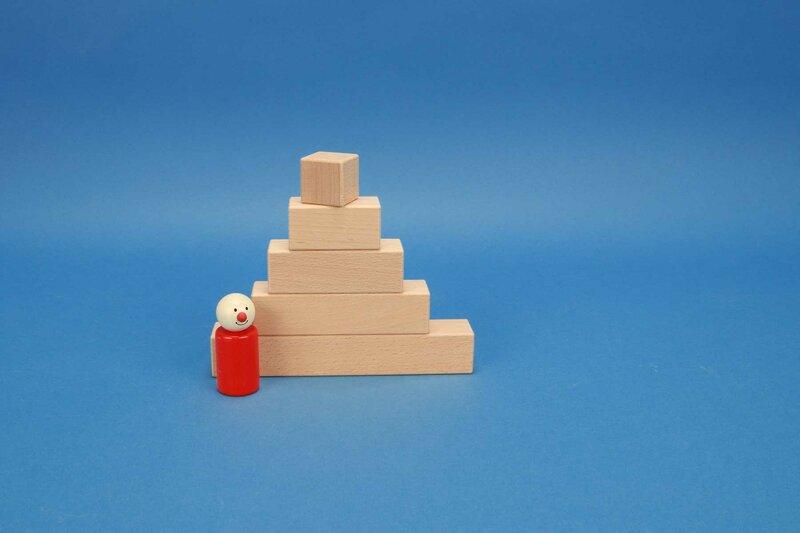 cubes rectangulaire 3 x 3 cm