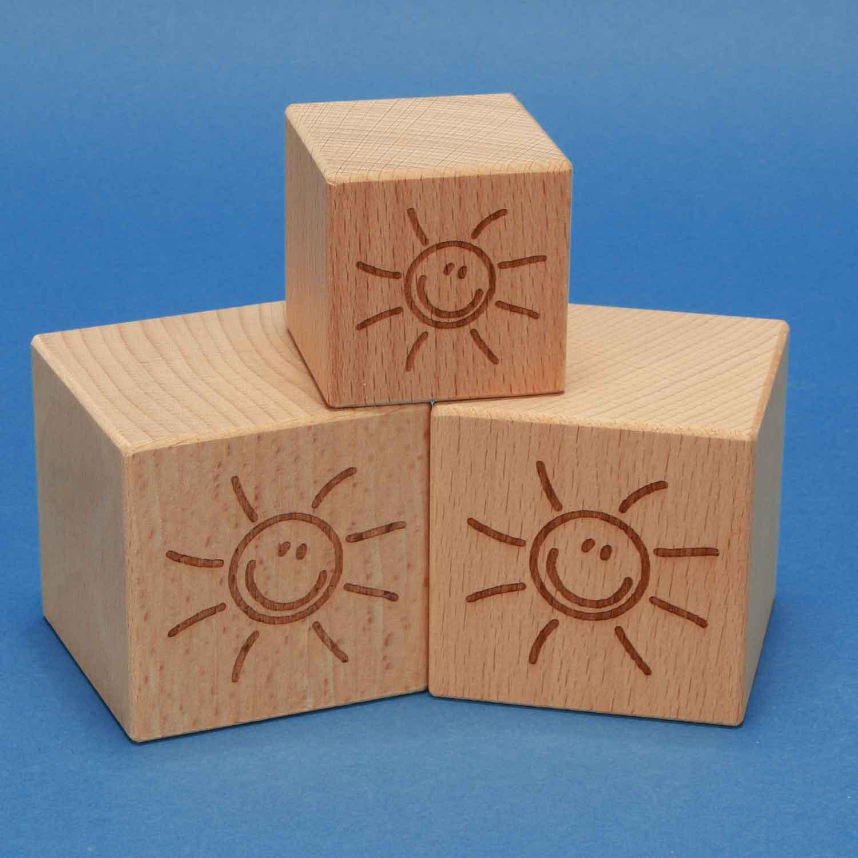 cubes avec laserengraving
