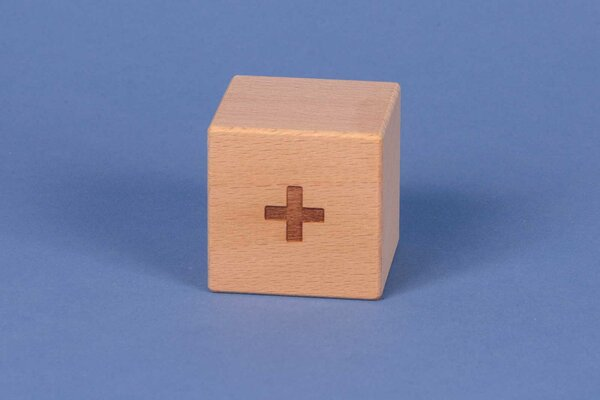 Cubes en lettres + positive