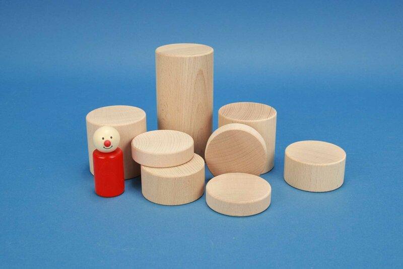 cylindre en hêtre Ø 6 cm