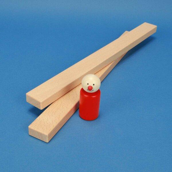 blocs de construction en bois 36 x 3 x 1,5 cm