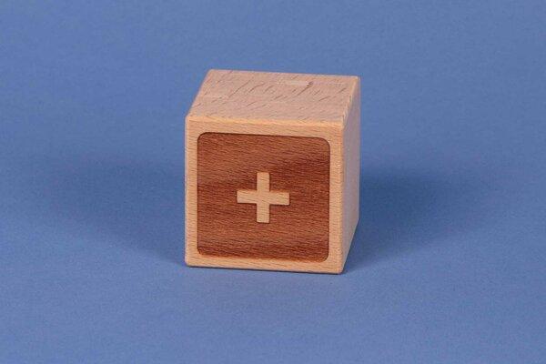 Cubes en lettres + négatif