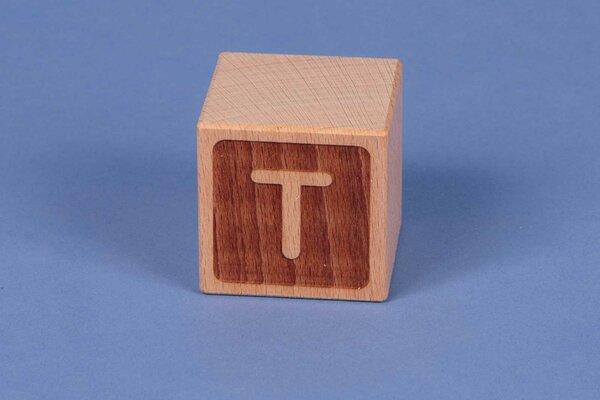 Cubes en lettres T négatif