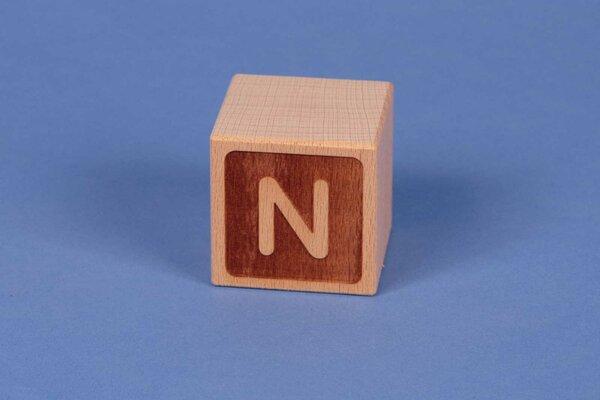 Cubes en lettres N négatif