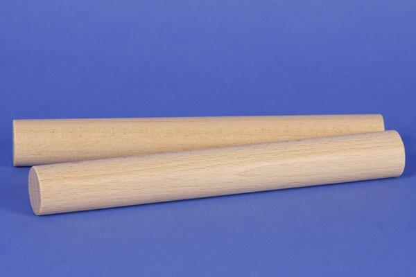 blocs de construction en bois ronds Ø 3 x 24 cm