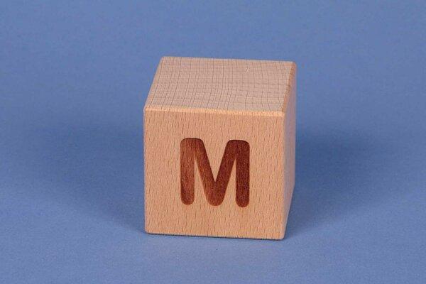 Cubes en lettres M positive