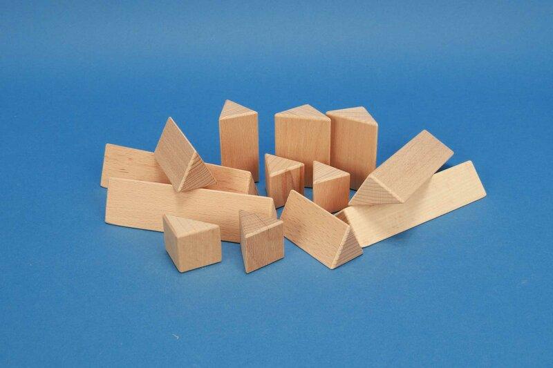 colonnes triangulaires 3 cm
