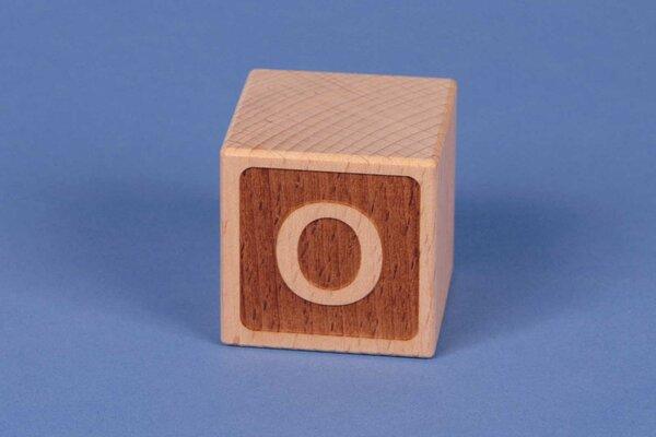 Cubes en lettres O négatif