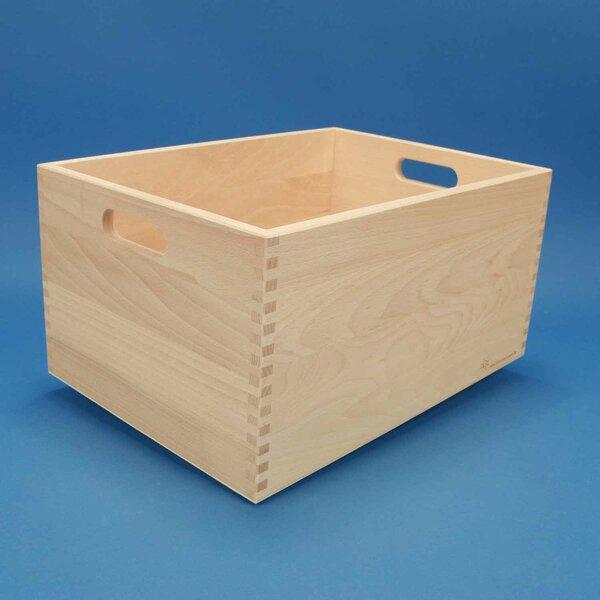 Caisse de rangement grande sans des blocs en bois