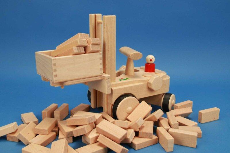 NIC Creamobil + cubes en bois