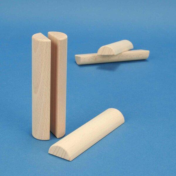 colonnes demi Ø 3 x 12 cm