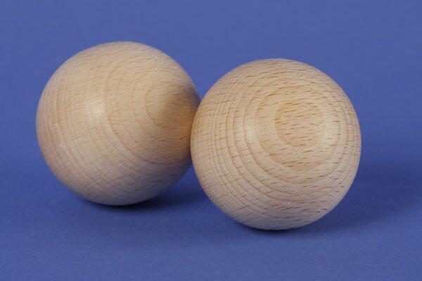 Sphères en bois en hetre Ø 45 mm